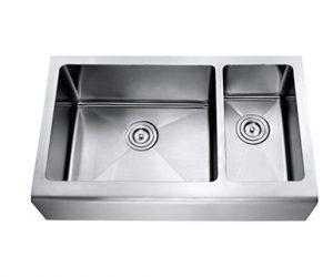 70/30 Large Bowl Left Apron Sink - Mirach