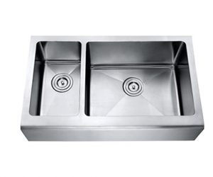 70/30 Large Bowl Right Apron Sink - Mirach